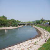 石関町(岡山市北区) 〜 旭川から岡山城の堀へ取水する堰があった所