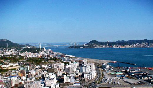 長門国 〜 地名由来は関門海峡?彦島と本土との間の入江状の瀬戸が発祥地か