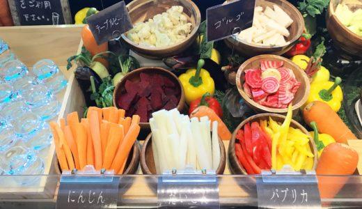 【農家食堂 ルオント】福山市三之丸町〜地元の新鮮野菜が喰い放題!