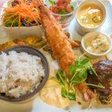 【コムシェトワ】福山市霞町〜ハンバーグと巨大エビフライがおすすめの洋食店