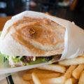 オールウェイズ@総社市山手 テリヤキマスタードチキン・サンドイッチ(チャバタ)+ランチプレート